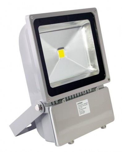 Светодиодный прожектор LED Jazzway PFL -100W серый