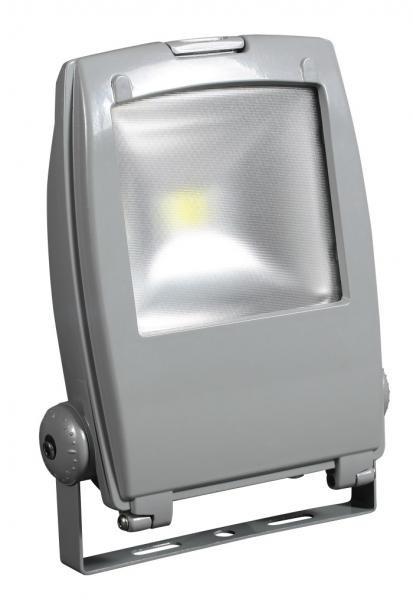 Светодиодный прожектор LED Jazzway PFL -10W + сенсор новый корпус