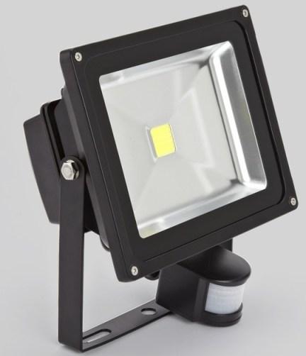 Светодиодный прожектор LED Jazzway PFL -30W + сенсор