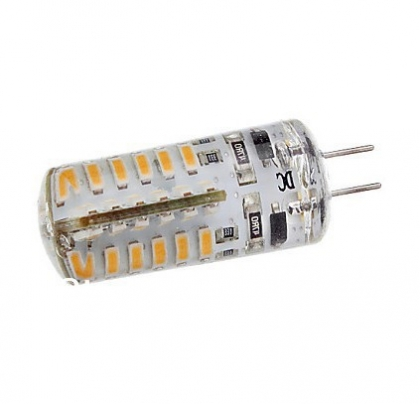 Светодиодная лампа G4 4W 48SMD3014 320 лм. 3000K DC12V