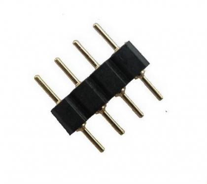 4 pin коннектор для цветных RGB светодиодных лент