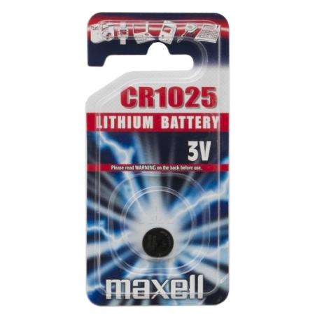 Батарейка MAXELL CR1025 BL 1/10