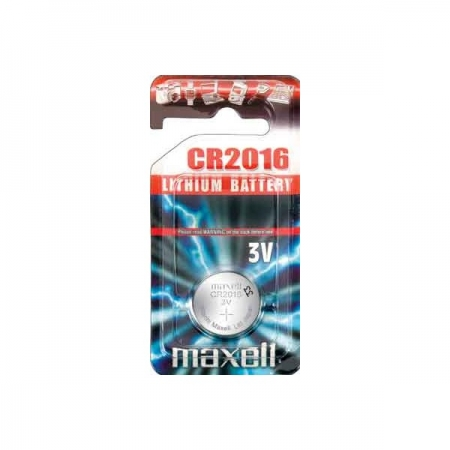 Батарейка MAXELL CR2016 BL 2/20/200