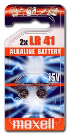 Батарейка MAXELL LR-41 (392, 736, G3) 2/20