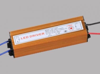50W блок питания светодиодного прожектора 32-45V 1500mA IP67 б/у (LED driver)