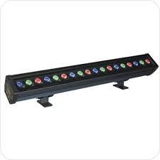 Светильник (светодиод линейка) PWW600-RGB-20W 18led IP65 Jazzway