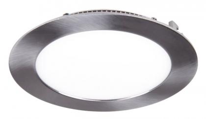 Светильник LED встраив PPL-R30012М 24W 1700Lm 4000K alum.mat или white