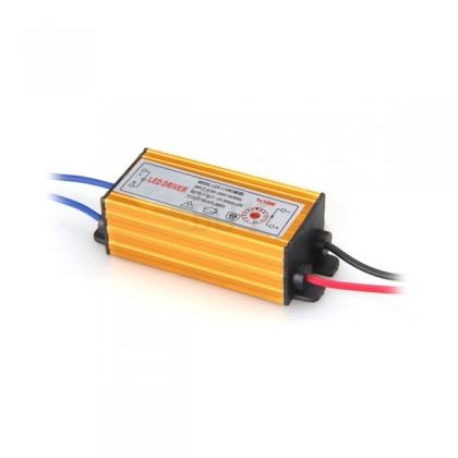 10W блок питания светодиодного прожектора 6-12V IP67 900мА новый (LED driver)