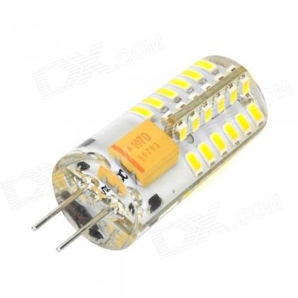 Светодиодная лампа G4 4W 48SMD3014 320 лм. 3000K AC/DC12V теплый белый