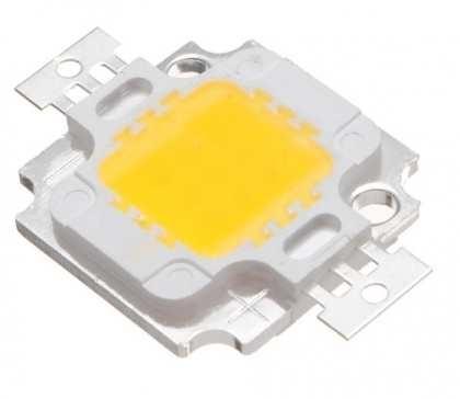 Светодиодная матрица 10W 890лм. 9-12V 900mA 3000K 35mil Тайвань Huga