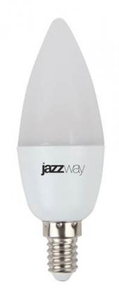 Светодиодная лампа Jazzway LED C37 7w Е14 3000K 530Lm