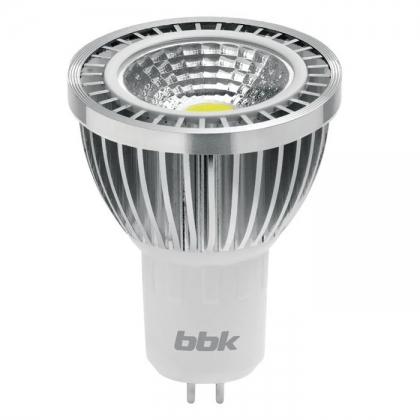 Светодиодная лампа BBK MR-16 MB333C 3.3W COB 3000K GU5.3
