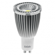Светодиодная лампа BBK PAR16 PC73C 7W COB 3000K GU 10