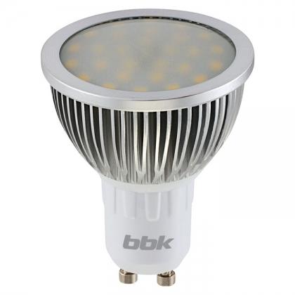 Светодиодная лампа BBK PAR16 P54F 5W 4500K GU 10