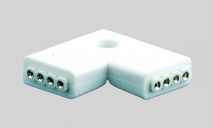 Угловой RGB коннектор